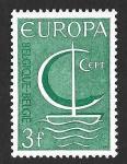 Sellos del Mundo : Europa : Bélgica : 675 - Barco (EUROPA CEPT)