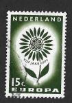 Sellos del Mundo : Europa : Holanda : 428 - Flor (EUROPA CEPT)