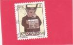 Sellos del Mundo : Europa : Polonia : zodiaco- tauro