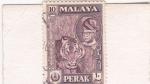 Sellos del Mundo : Asia : Malasia : tigre de malasia