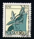 Stamps Poland -  cancer