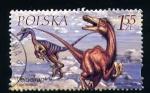 Sellos de Europa - Polonia -  velociraptor