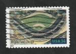 Sellos del Mundo : America : Estados_Unidos : 3218 - Estadio de béisbol, Wrigley Field, de Chicago