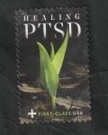 Sellos del Mundo : America : Estados_Unidos : 7 - Lucha contra el trastorno de estrés postraumático