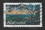 Sellos del Mundo : America : Estados_Unidos : 5196 - Bicentenario de la independencia del Estado de Alabama