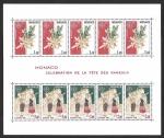 Sellos del Mundo : Europa : Mónaco : HB 1279a - Tradiciones del Domingo de Ramos (EUROPA CEPT)