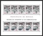 Sellos del Mundo : Europa : Mónaco : HB 1624a - Transporte y Comunicación (EUROPA CEPT)