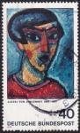 Stamps : Europe : Germany :  Alexej von Jawlensky