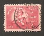 Sellos de America - Cuba -  RESERVADO DAVID MERINO
