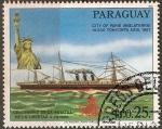 Stamps Paraguay -  Bicentenario Estatua de la Libertad