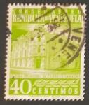 sello : America : Venezuela : Oficina de correos de Caracas
