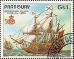 Stamps America - Paraguay -  Barcos Antiguos de la Armada Española