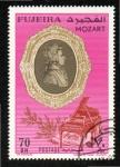 Sellos del Mundo : Asia : Emiratos_Árabes_Unidos : 100  FUJEIRA  Mozart