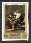 Sellos del Mundo : Asia : Emiratos_Árabes_Unidos : 103  FUJEIRA  Les Forgerons