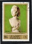 Sellos del Mundo : Asia : Emiratos_Árabes_Unidos : 109  FUJEIRA  Buste de Madame Turner