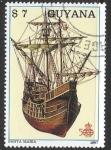 Sellos del Mundo : America : Guyana : barcos