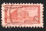 sello : America : Colombia : Palacio de Comunicaciones