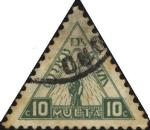 Sellos de America - Bolivia -  Multa. Antorcha del conocimiento.