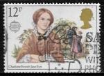 Sellos del Mundo : Europa : Reino_Unido : Charlotte Brontë