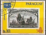 Stamps Paraguay -  Ameripex 86