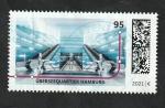 sello : Europa : Alemania : Estación Überseequartier de Hamburgo