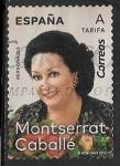 Stamps Europe - Spain -  Estrella de Opera - Montserrat Caballé(1933-2018)