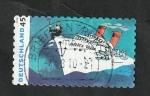 Stamps Europe - Germany -  2632 - Udo indenberg, músico y pintor alemán, barco Andre Doria