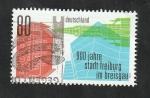 Stamps Europe - Germany -  3328 - 900 Anivº de la fundación de Fribourg en Brisgau