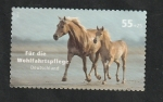 Stamps Europe - Germany -  2457 - Caballos