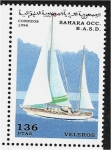 Stamps : Africa : Morocco :  Veleros