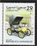 Stamps : Africa : Morocco :  Carros, Fiat 1899