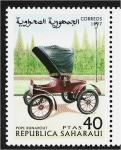 Stamps : Africa : Morocco :  Carros, Pope Renabout