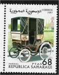 Stamps : Africa : Morocco :  Carros, Marshall