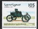 Stamps : Africa : Morocco :  Carros, Oldsmobile 1902