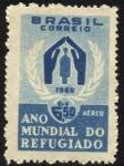Stamps Brazil -  Año mundial del Refugiado.