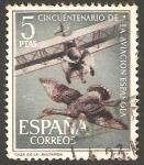 Stamps : Europe : Spain :  1404 - L Aniversario aviación española