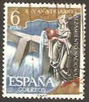 Stamps Spain -  1362 - XXV aniversario del alzamiento nacional