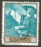 Sellos de Europa - España -   zurbaran