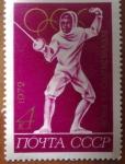 Stamps Russia -  Esgrima