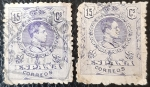 Stamps Europe - Spain -  Alfonso XIII. Tipo Medallón