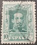Stamps Europe - Spain -  Alfonso XIII. Tipo Vaquer Número de control al dorso