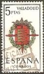 Stamps Spain -  1698 - escudos capitales de provincia, valladolid