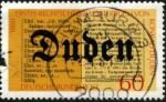 Stamps Germany -  Konrad Duden