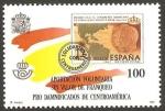 sellos de Europa - España -  pro damnificados por huracán mich