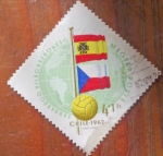 Stamps of the world : Yugoslavia :  Mundial de futbol