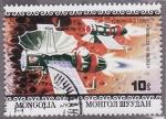Sellos de Asia - Mongolia -  X Aniversario del Primer hombre en la luna
