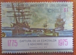 Stamps Chile -  Naval