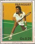 Sellos de America - Paraguay -  Homenaje a tenistas mundiales