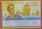 Sellos de America - Chile -  Escuadra nacional