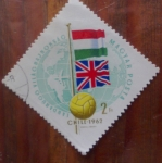 Stamps of the world : Yugoslavia :  Mundial de futbol